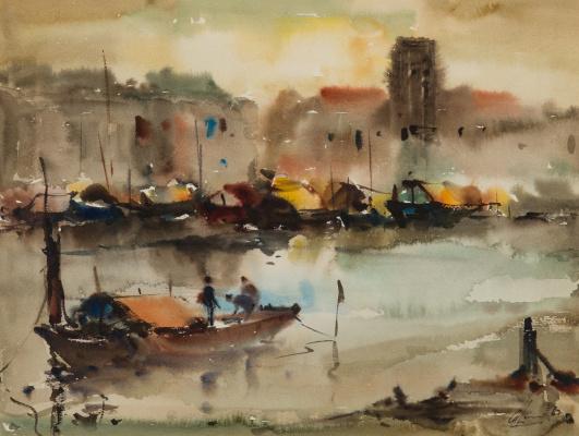Lim Cheng Hoe. Singapore River