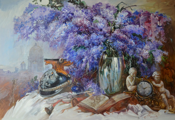 "Andrey Romasyukov. Gumilevskaya lilac. Series ""From the Great War to the Great Troubles"""