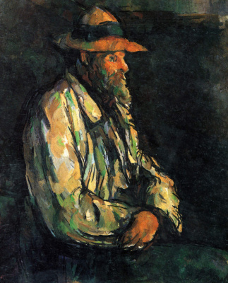 Paul Cezanne. Portrait of the gardener Vallier