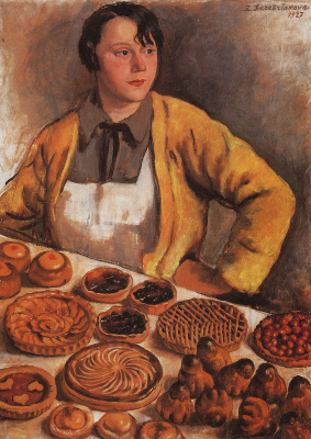 The bakery lady from the street LePic
