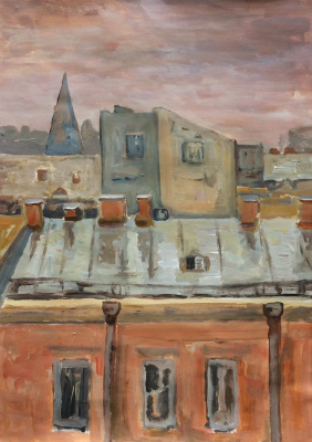 """Andrey Leonidovich Shepel. """"Roofs Of St. Petersburg"""""""