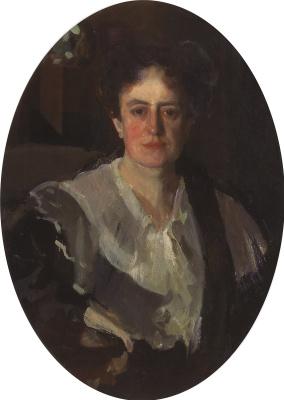 Constantin Somov. Portrait of the artist E. N. Zvantseva arts