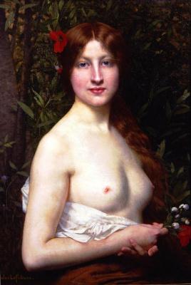 Jules Joseph Lefebvre. Flora