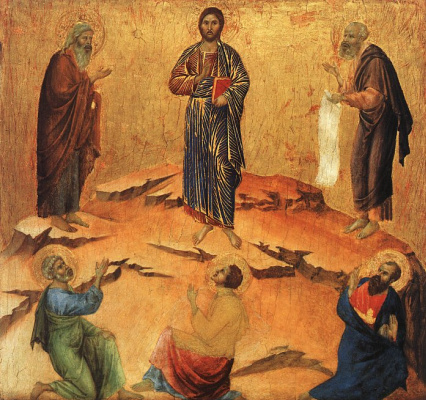 Duccio di Buoninsegna. The Savior