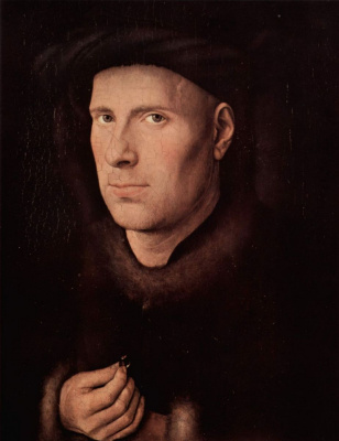 Jan van Eyck. Portrait of Jan de Leeuw