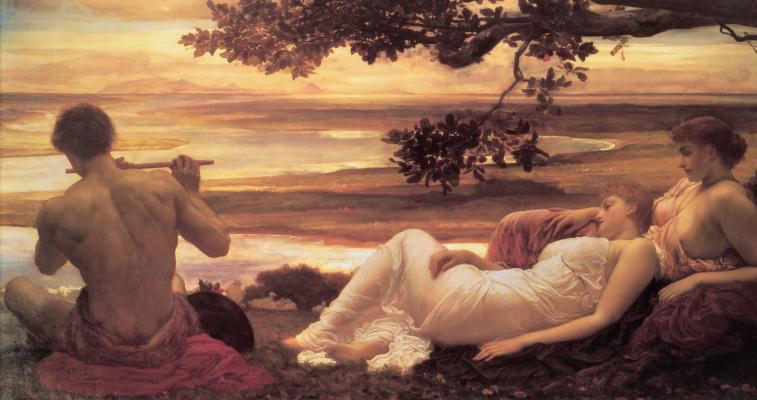 Frederic Leighton. Idyll