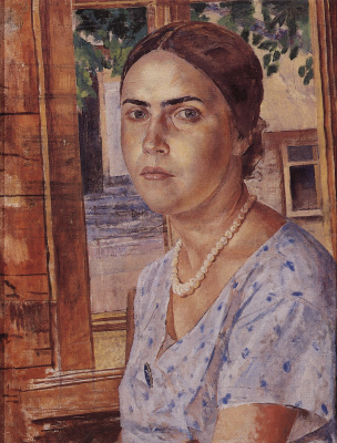 Kuzma Sergeevich Petrov-Vodkin. The girl at the window