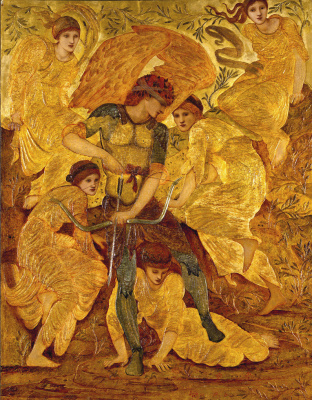 Edward Coley Burne-Jones. Cupid's hunting fields