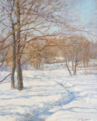 Aleksandr Chagadaev. Winter trail