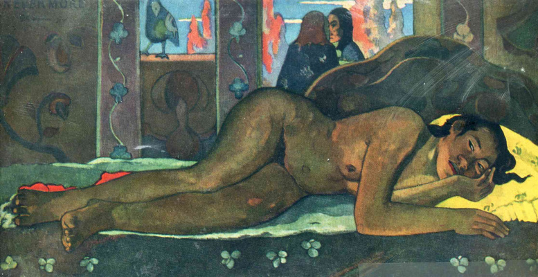 Paul Gauguin. Never
