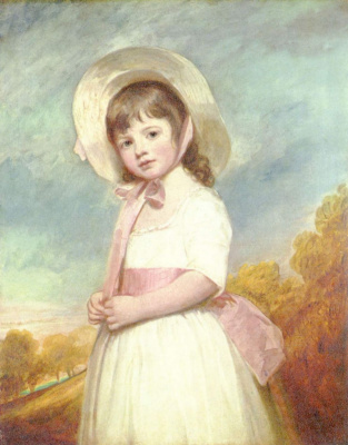 George Romney. Fraulein Willoughby