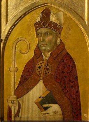 Simone Martini. St. Augustine