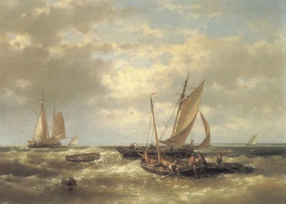 Авраам Халк. Бушующее море
