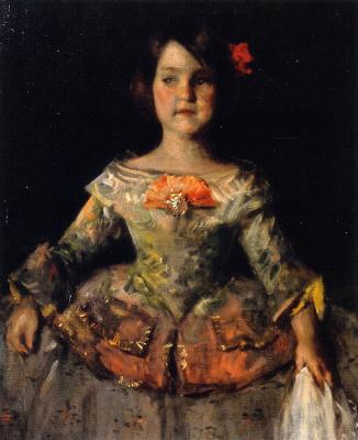 Уильям Меррит Чейз. Инфанта (по Веласкесу). Дочь художника Хелен
