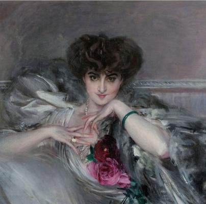 Джованни Больдини. Портрет принцессы Радзивилл. 1910
