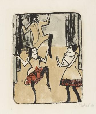 Erich Heckel. Dancers