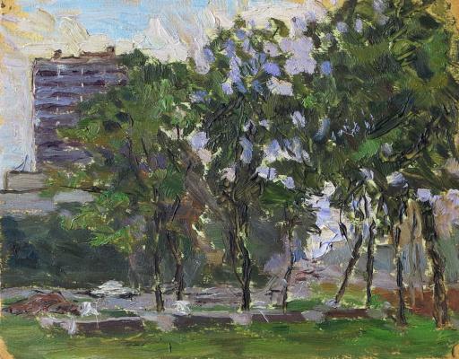 Ivan Alexandrovich Chistov. Crossroads trees