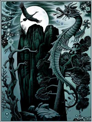 Konstantin Avdeev. The moon wakes the dragon