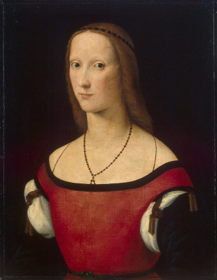 Lorenzo Costa. Female portrait