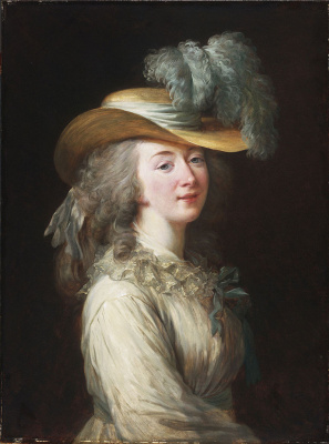 Элизабет Виже-Лебрен. Портрет графини Дюбарри