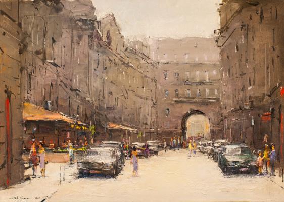 Andrew Hooke. Kiev passage