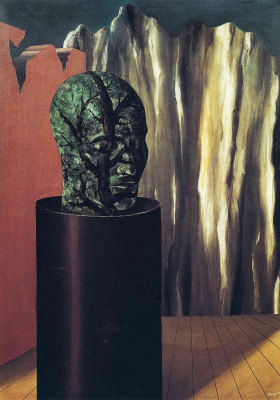 René Magritte. Forest