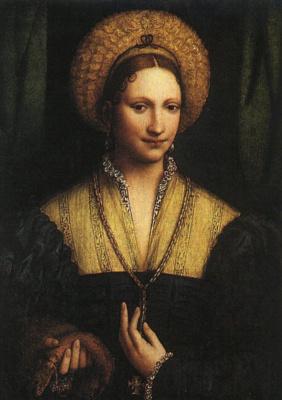 Бернардино Луини. Портрет дамы