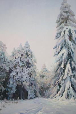 Violetta Dudnikova. Real winter