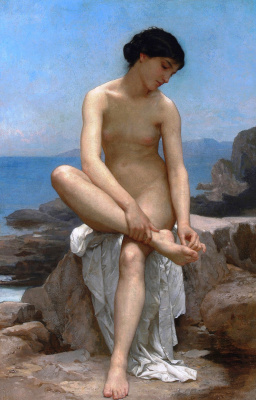 William-Adolphe Bouguereau. Bather