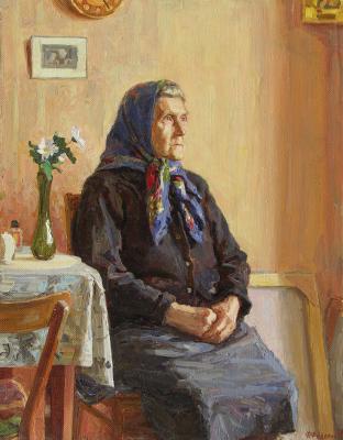 Фёдор Борисович Фёдоров. Бабушка