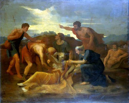 Nicola Poussin. The Rescue Of Zenobia