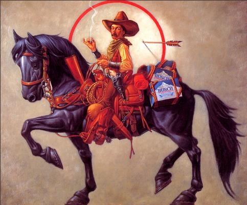 Ричард Мантел. На коне