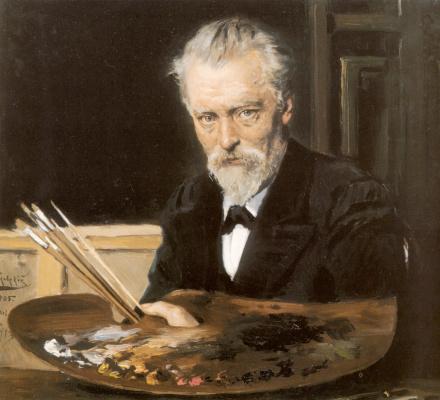 Vladimir Egorovich Makovsky. Self-portrait