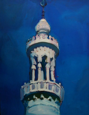 Renat Ramazanov. The minaret