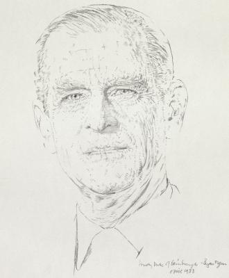 Brian Authority. HRH The Duke of Edinburgh