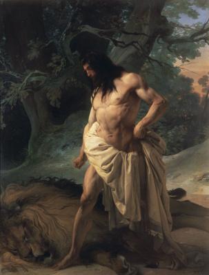 Франческо Айец. Самсон над убитым львом