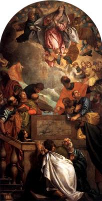 Paolo Veronese. Assumption of the Virgin
