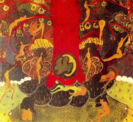 Kazimir Malevich. Oak and dryads