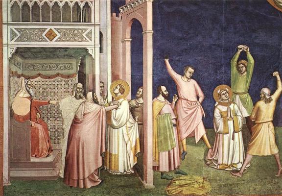 Бернардо Дадди. Мученичество Святого Стефана