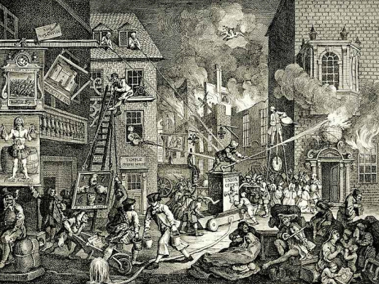 William Hogarth. Times