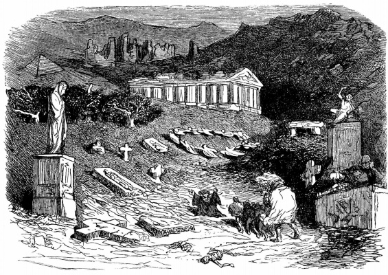 "Paul Gustave Dore. Illustration to ""Gargantua and Pantagruel"" Rabelais"