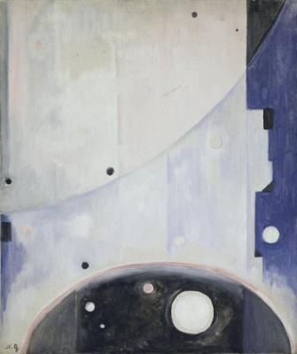 Natalia Goncharova. Space