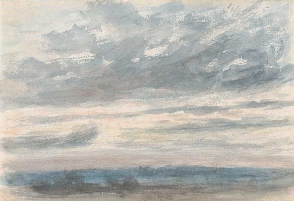 John Constable. Cloudy sky