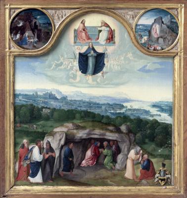 Joachim Patinir. The Dormition Of The Theotokos