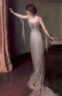 Лила Кэбот Перри. Девушка в длинном платье