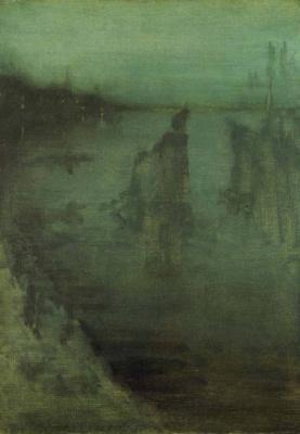 James Abbot McNeill Whistler. Nocturne