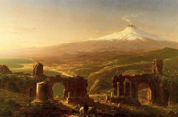 Thomas Cole. Mount Etna