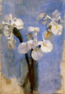 Pete Mondrian. Flowers