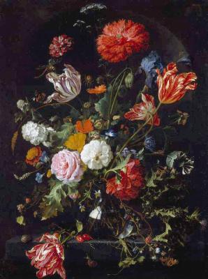 Ян Давидс де Хем. Цветы