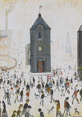 Lawrence Stephen Lowry. The black Church
